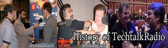 Banner for the History of TechtalkRadio