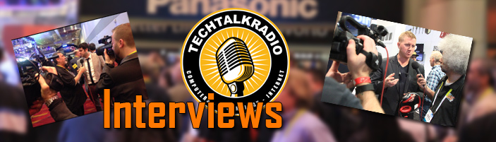 Banner Photo for Interview Section of TechtalkRadio