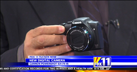 Andy Taylor of TechtalkRadio and Mark Stine from the KMSB Fox 11 Segment featuring the Canon Powershot SX70 IS and Canon DSLR Cameras7