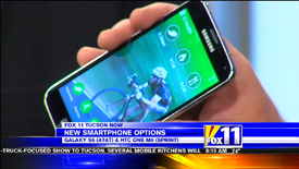 Smartphones featured with TechtalkRadio's Andy Taylor on KMSB Fox 11