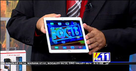 TechtalkRadio's Andy Taylor on Fox 11 Daybreak taking a look at products on the Holiday Wish List