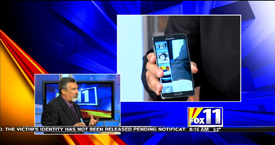 TechtalkRadio's Andy Taylor on Fox 11 Daybreak taking a look at products from Sprint and Samsung
