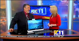 TechtalkRadio's Andy Taylor on Fox 11 Daybreak taking a look at the All In One HP PC