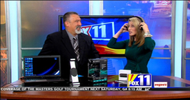 TechtalkRadio's Andy Taylor on Fox 11 Daybreak takes a look at the Logitech h800 Wireless Headphones and Apple TV Price Reduction
