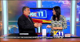 TechtalkRadio's Andy Taylor on Fox 11 Daybreak taking a look at the Samsung Galaxy S6 Edge