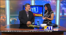 TechtalkRadio's Andy Taylor on Fox 11 Daybreak taking a look at the Obi200 Telephone Adapter and Apple iPhone 6 Plus