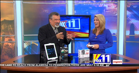 TechtalkRadio's Andy Taylor on Fox 11 Daybreak takes a look at TeenyDrones and the GoPro Hero 4 Sessions