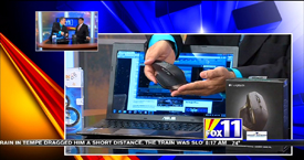 TechtalkRadio's Andy Taylor on Fox 11 Daybreak takes a look at Prodrenalin software and the Logitech MX Master Mouse
