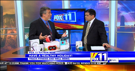 TechtalkRadio's Andy Taylor on Fox 11 Daybreak featuring the FitBit Products and Caref GPS Watch