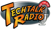 The New TechtalkRadio Logo